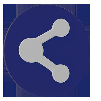 social-media-floating-icon